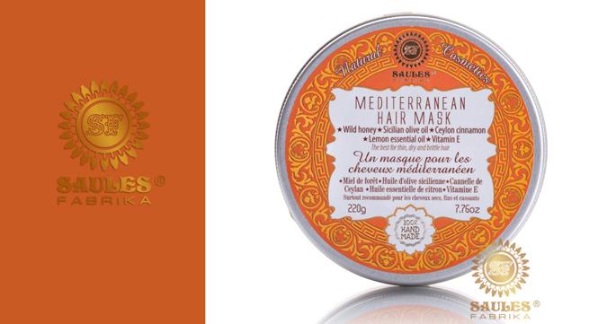 Masque capillaire méditerranéen