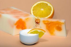 Orange au yaourt